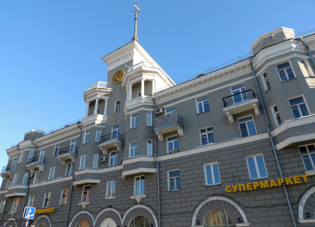 Дом под шпилем Барнаул