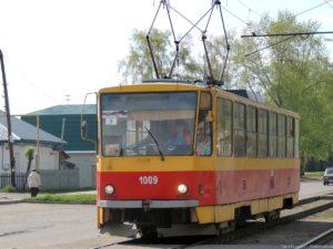 трамвай 5 маршрута Барнаул