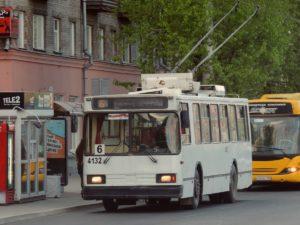 троллейбус 6 Баранул