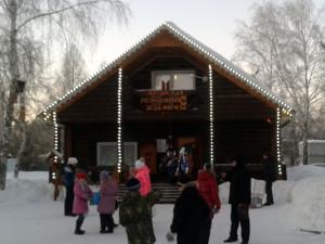 Алтайская резиденция Деда Мороза
