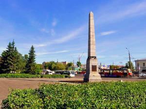 Демидовская площадь Барнаул
