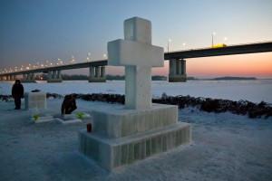 Крещенская купель в Барнауле