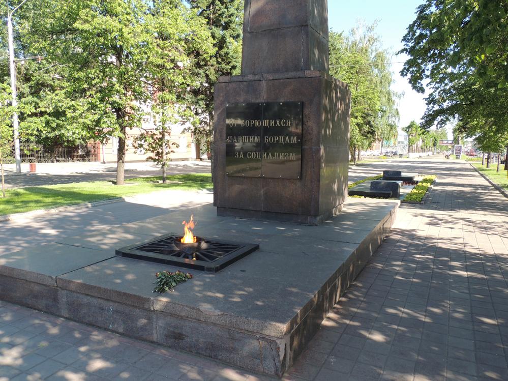 Мемориал борцам за советскую власть в Барнауле