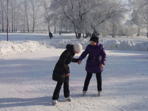 Каток в Барнауле