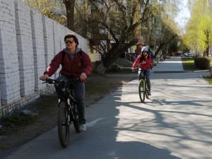 где покататься на велосипеде в Барнауле